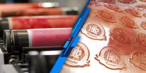 Etiquetas para la industria de alimentos